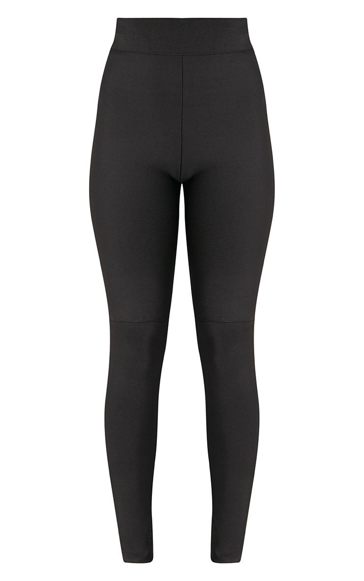Raziela Black Bandage High Waisted Trousers 3