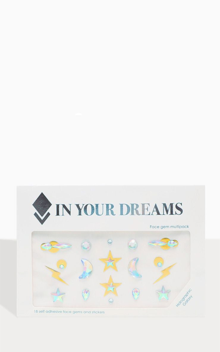 In Your Dreams Holographic Galaxy Face Jewel 2