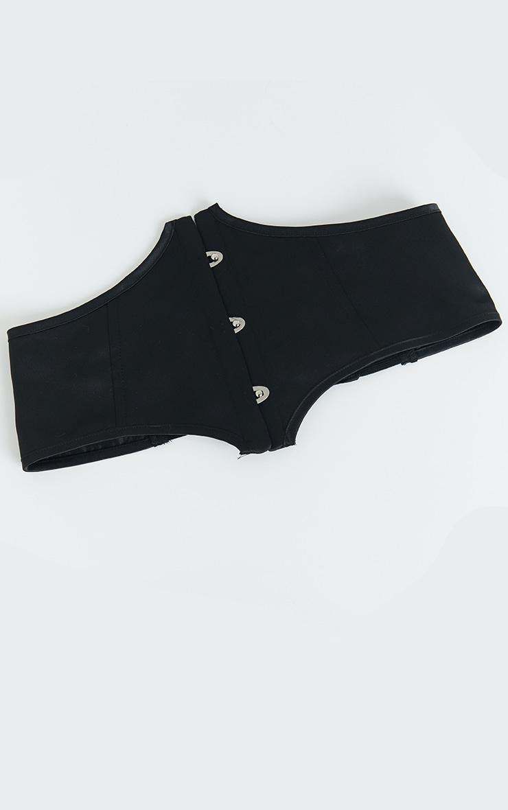 Black Satin Corset Belt 3