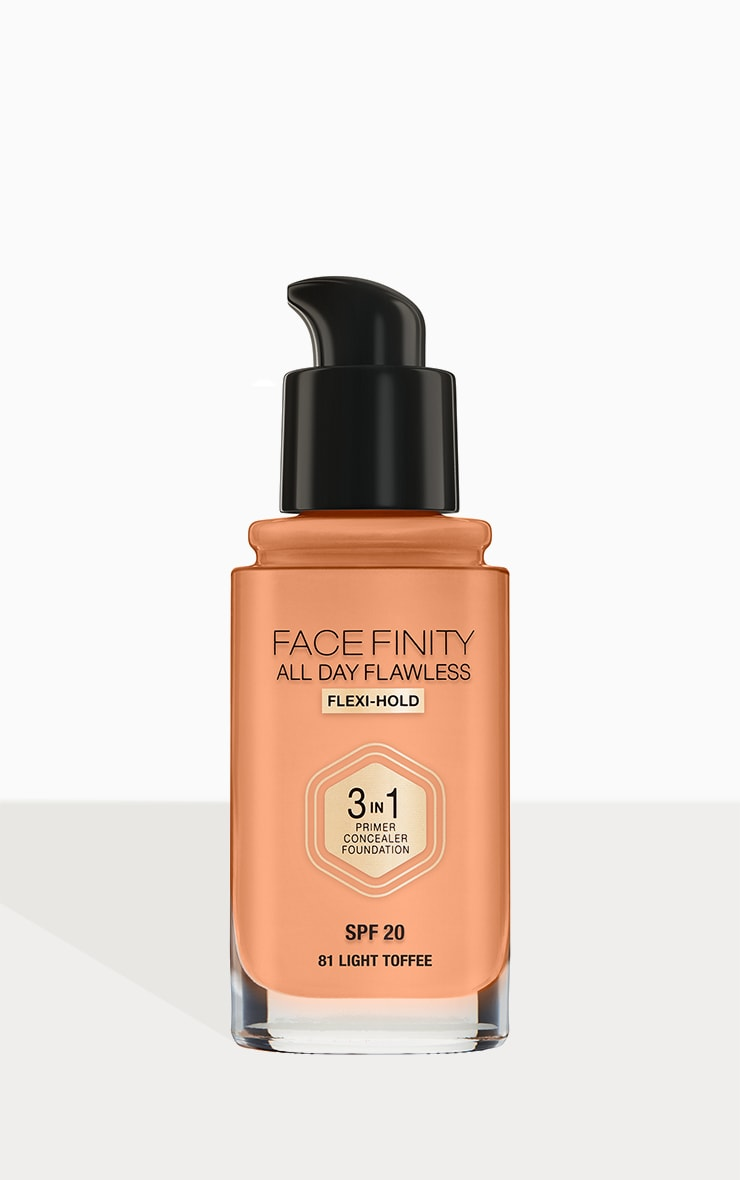 Max Factor Facefinity All Day Flawless Foundation Light Toffee 3