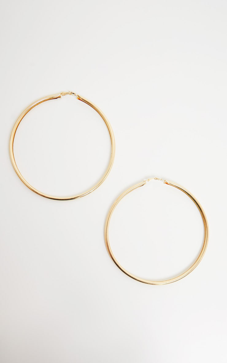 Gold Large Hoops 2
