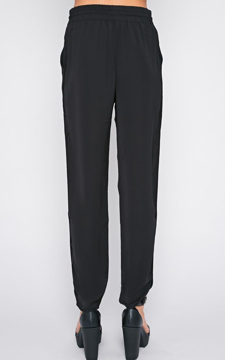 Lexi Black Drawstring Trouser  5