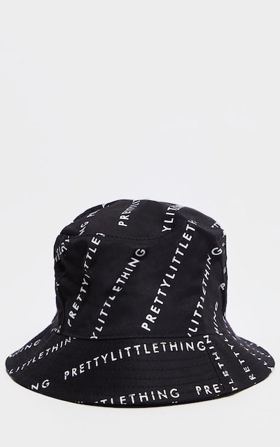 PRETTY LITTLE THING Black Bucket Hat