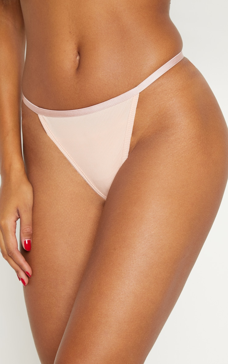 Multi Rib 3 Pack Thong 4