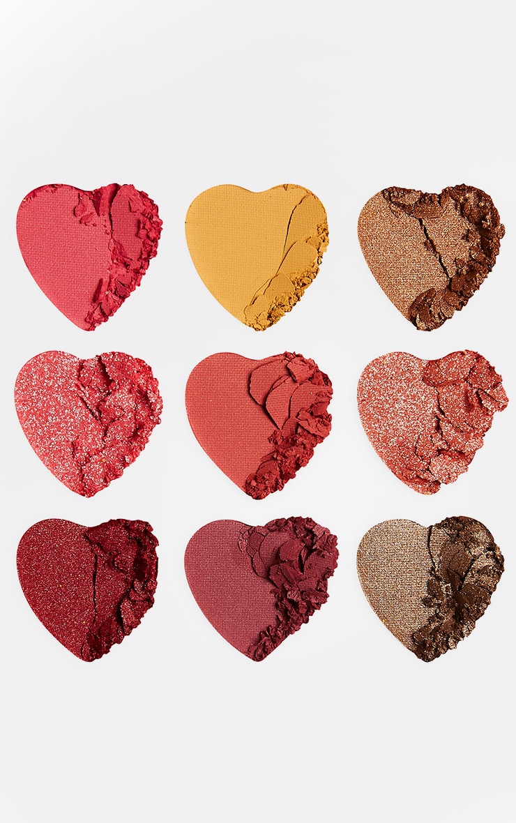 I Heart Revolution Heartbreakers Eyeshadow Palette Courage 3