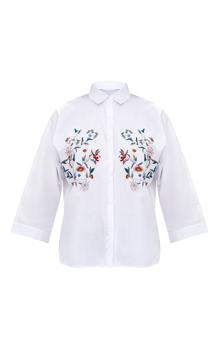 Callie White Embroidered Shirt 3