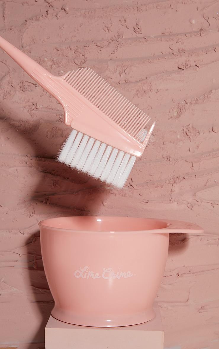 Lime Crime Unicorn Hair Mixing Bowl + Brush 1