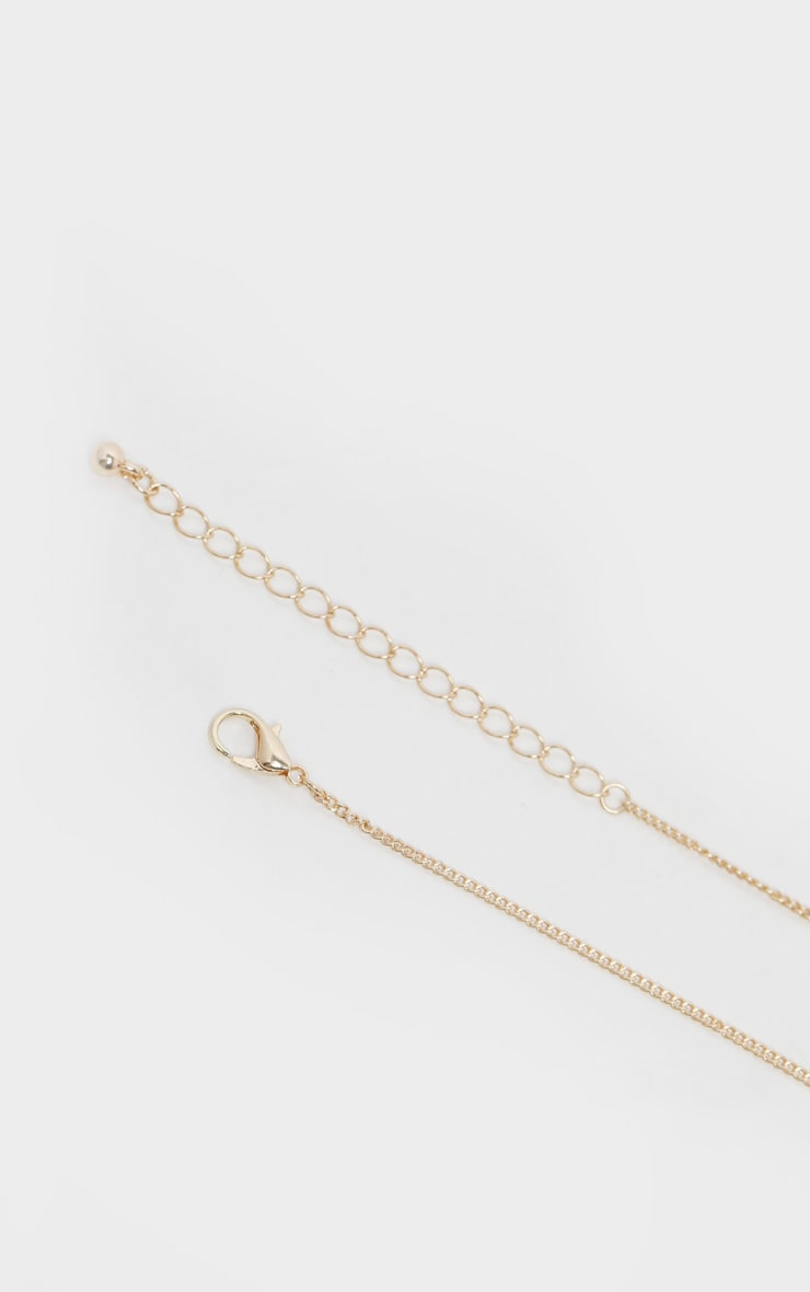 Gold Tags Necklace 4