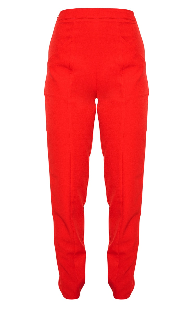 Red Tapered Trouser 3