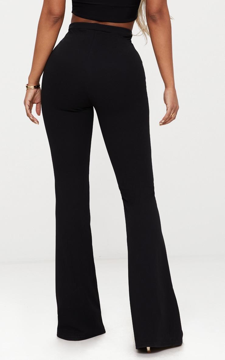 Shape Black Lion Trim Wide Leg Trousers 4