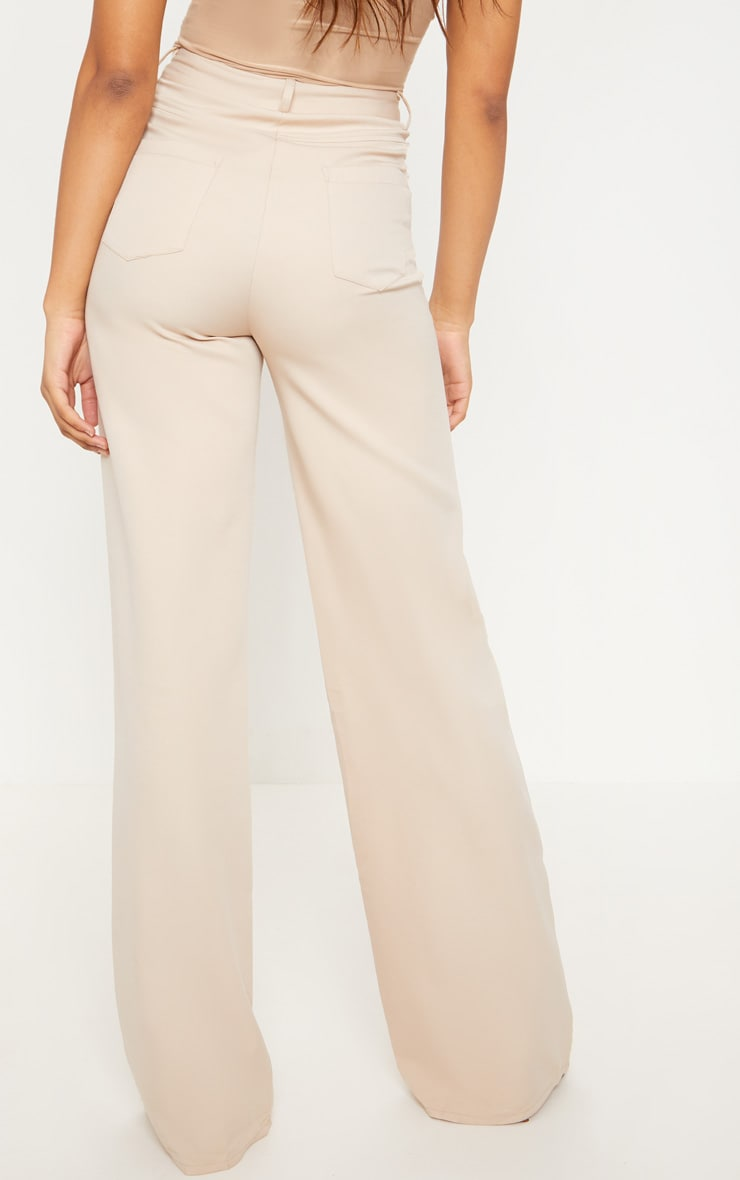 Tall Stone Pocket Detail Wide Leg Pants 4