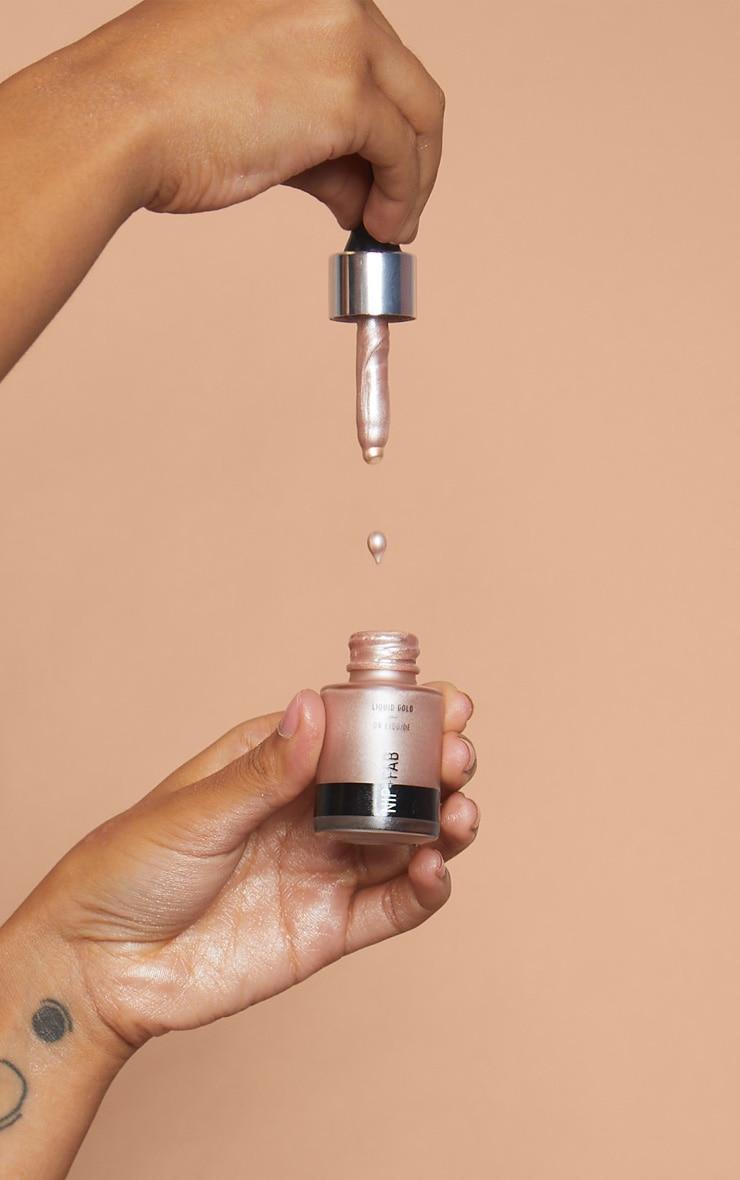 Enlumineur or blanc liquide Nip + Fab 3