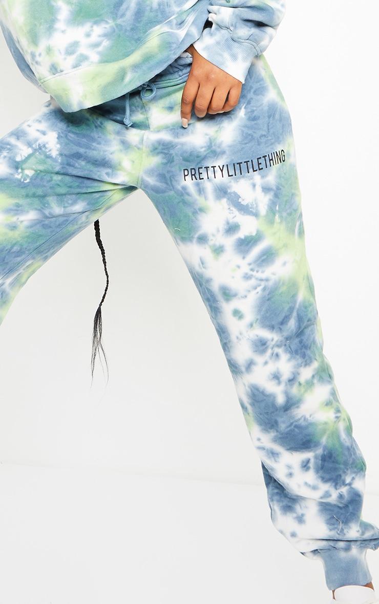 PRETTYLITTLETHING Grey Multi Tie Dye Joggers 4