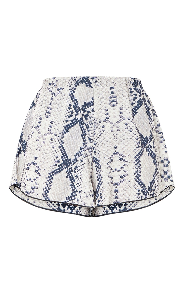 Snake Lightweight Print Floaty Shorts 6