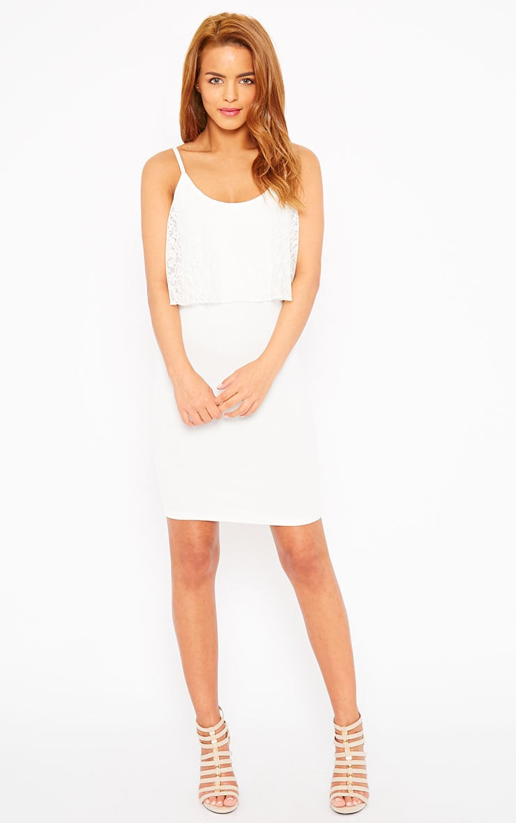 Gildi White Frill Detail Dress 3
