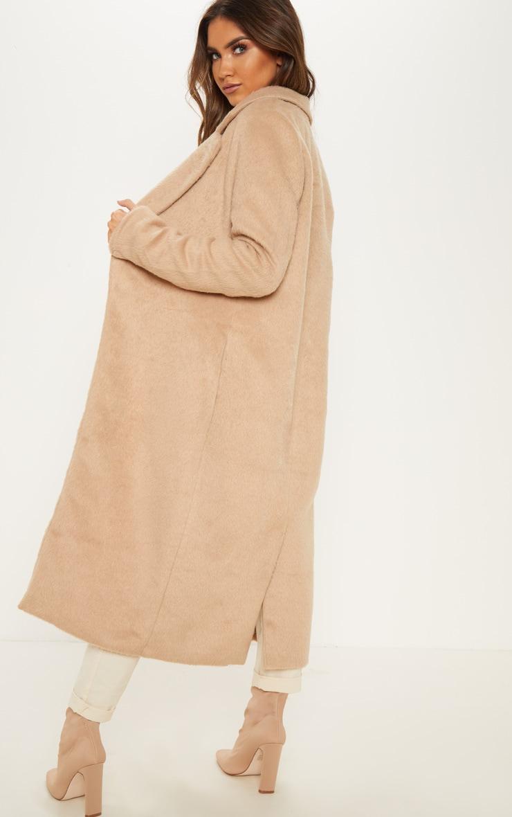 Camel Longline Coat 2