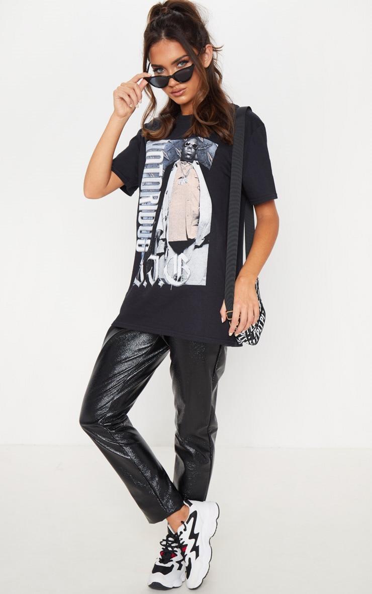 Black Notorious BIG Oversized T Shirt 2