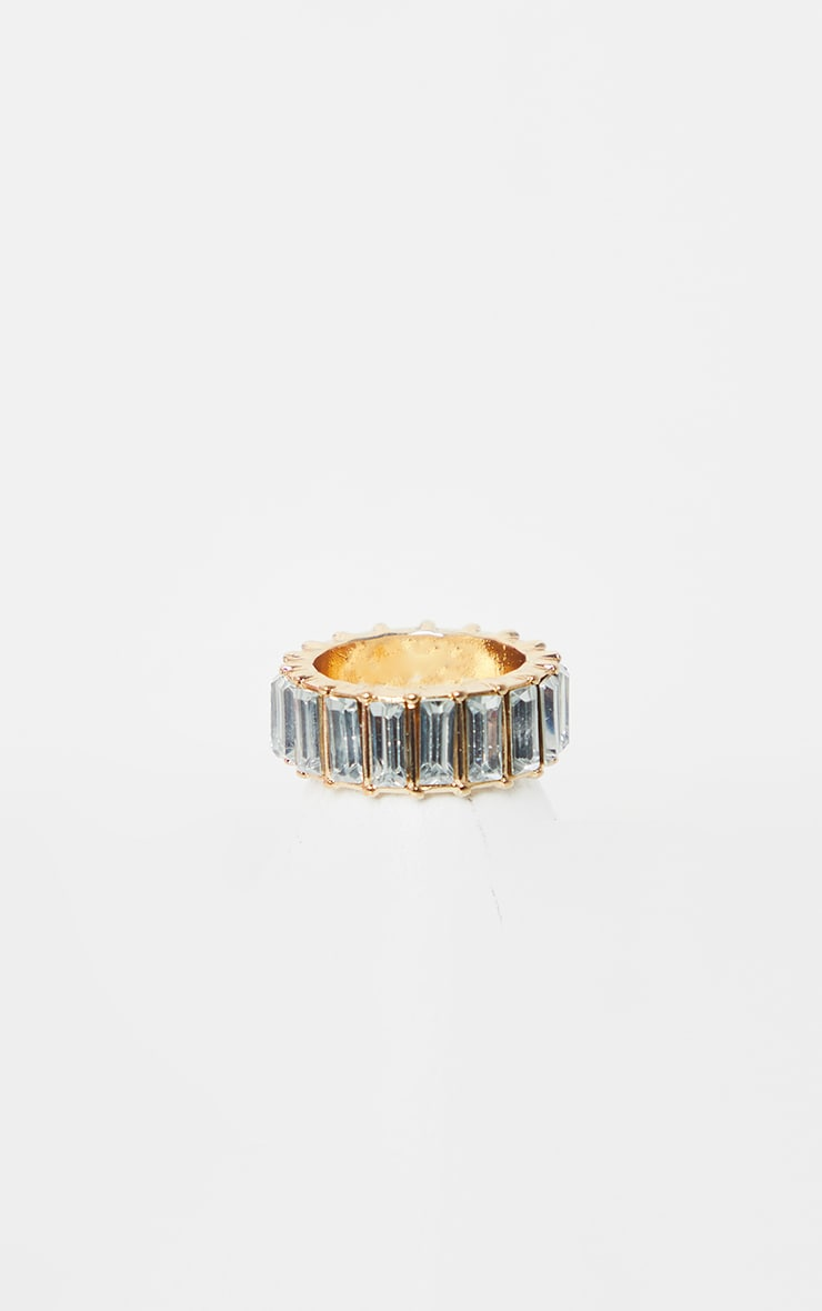 Crystal Eternity Band Ring 3