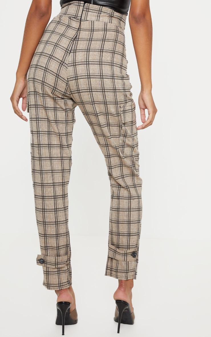 Black Peg Leg Cargo Pocket Trouser 4