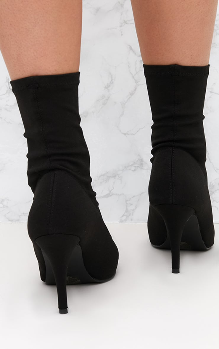 Black Sock Boot 4