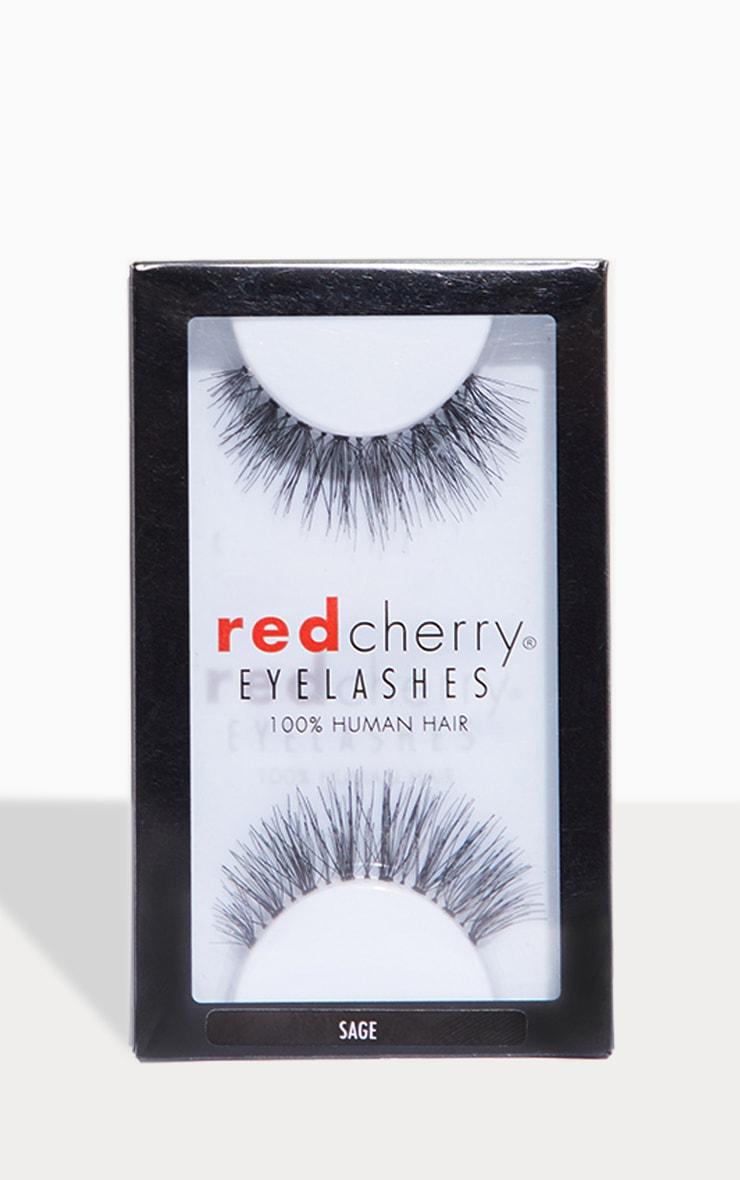 Red Cherry Eyelashes Sage 1