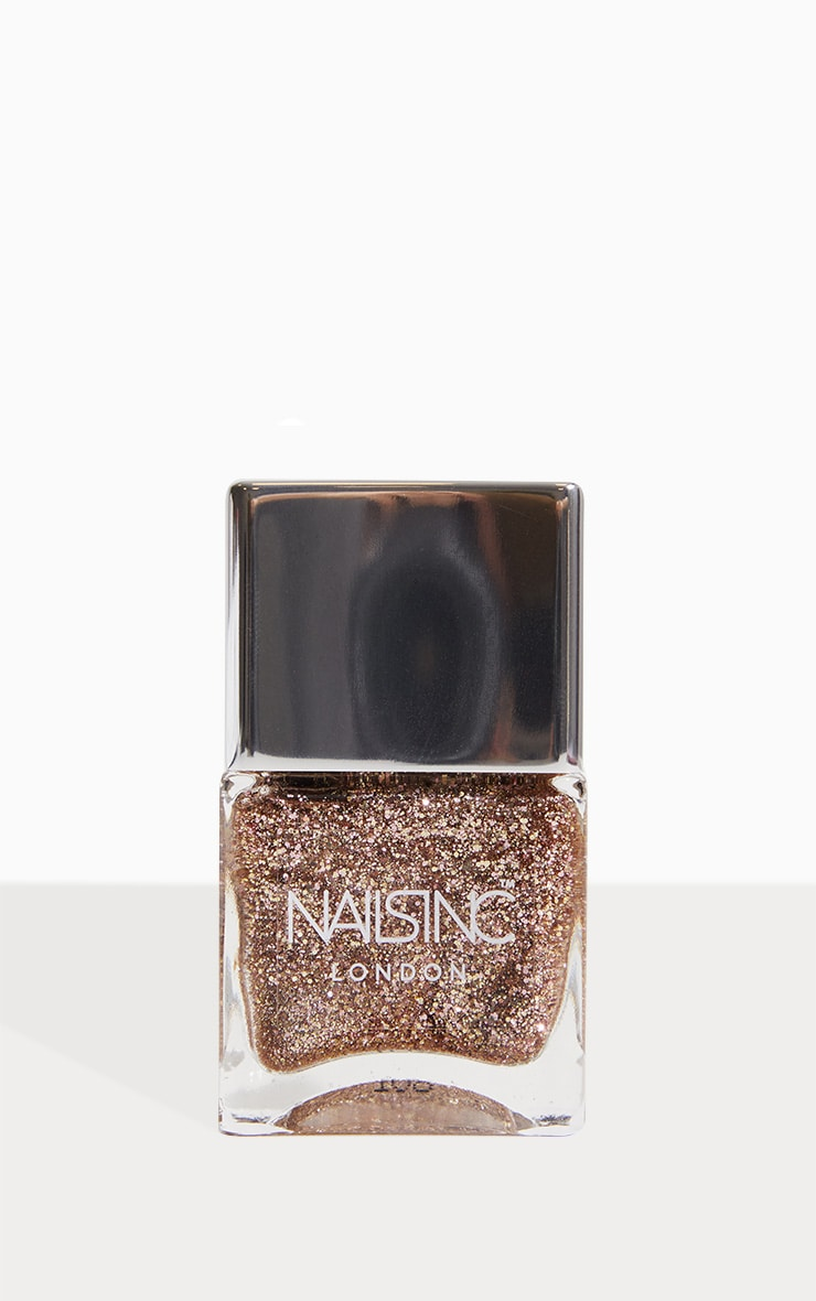 Nails Inc Limited Edition Gold Catchin Rainbows Nail polish 2