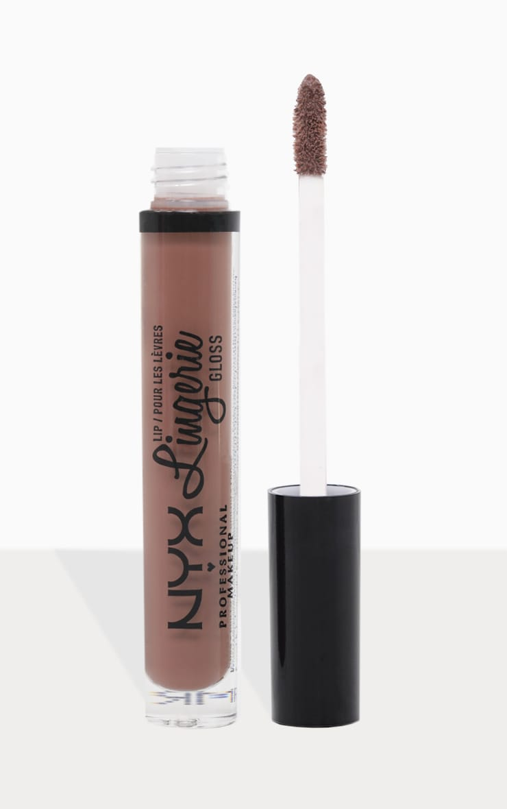 Nyx Pmu Can T Stop Won T Stop Full Coverage Foundation: Nyx Professional Lip Lingerie Gloss Maison