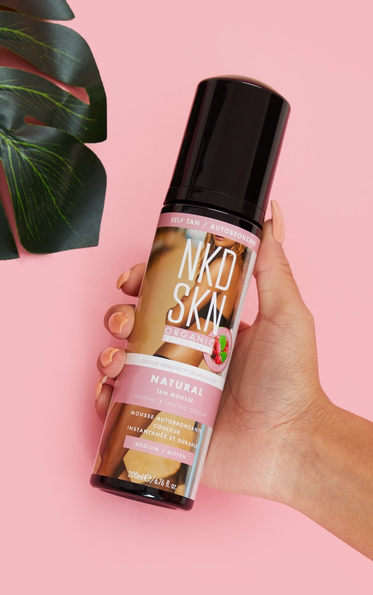 NKD SKN Medium Tanning Mousse Jumbo 200ml 1