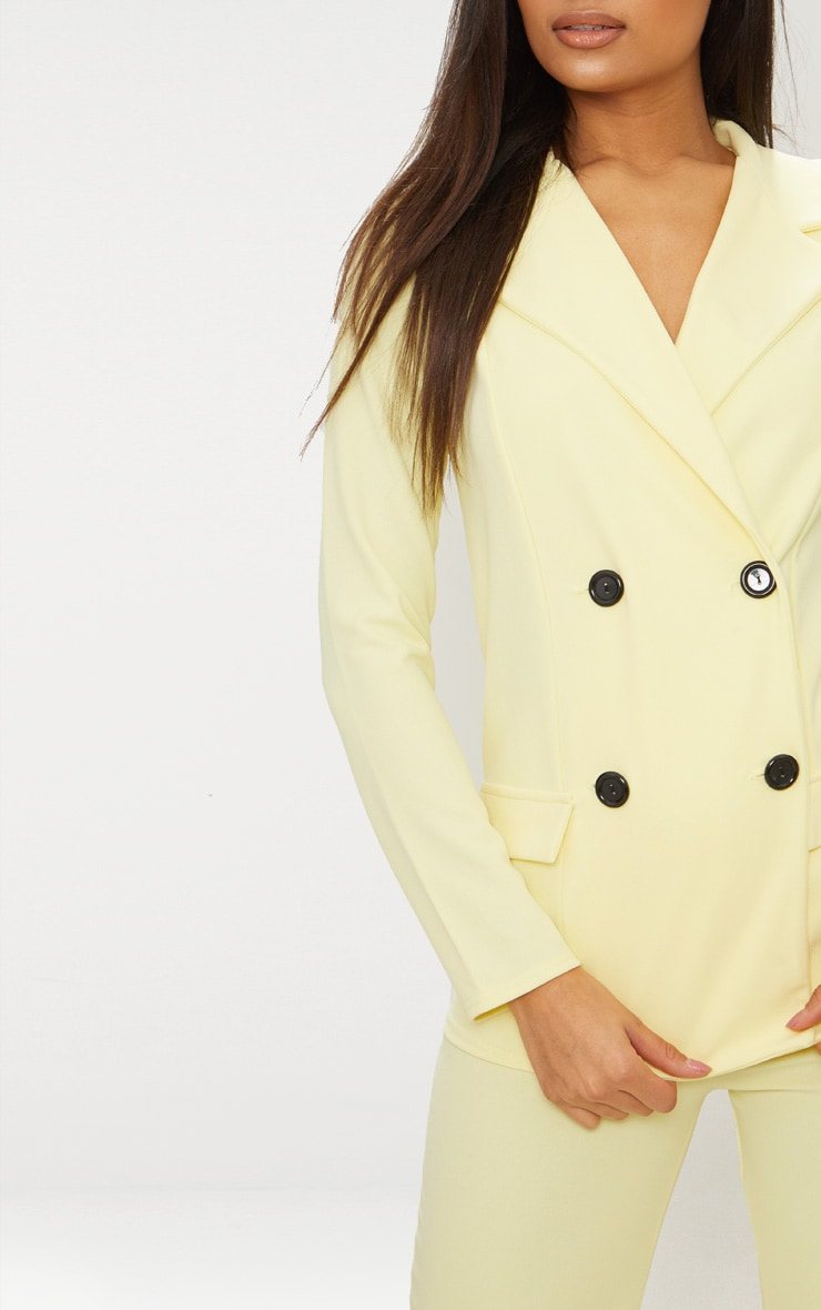 Lemon Double Breasted Blazer 4