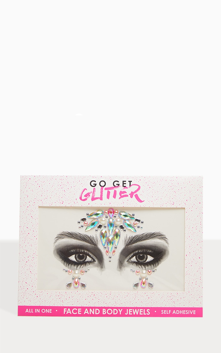 Go Get Glitter Iridescent Unicorn Face Jewels 2