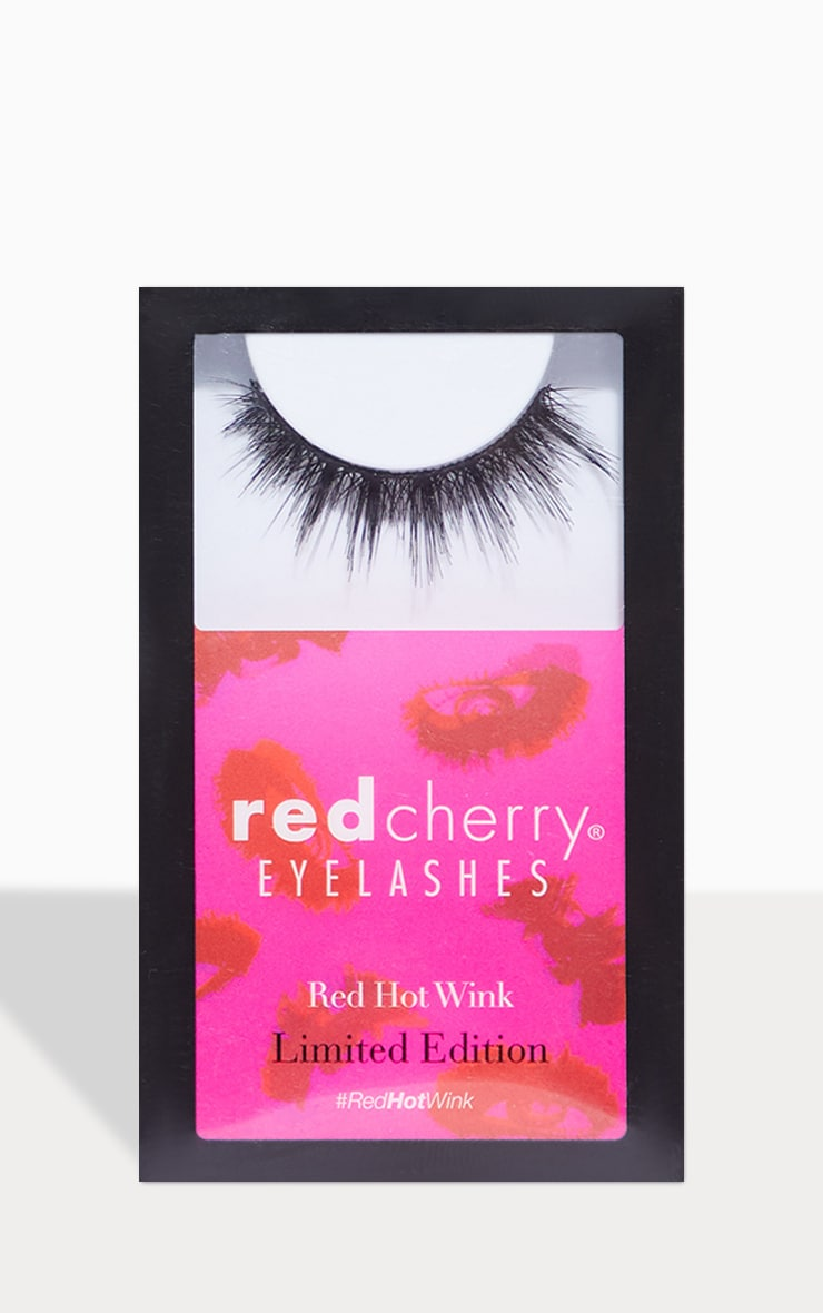 Red Cherry Eyelashes Femme Flare