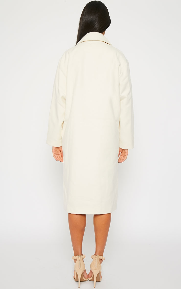 Trisha Cream Long Coat 2