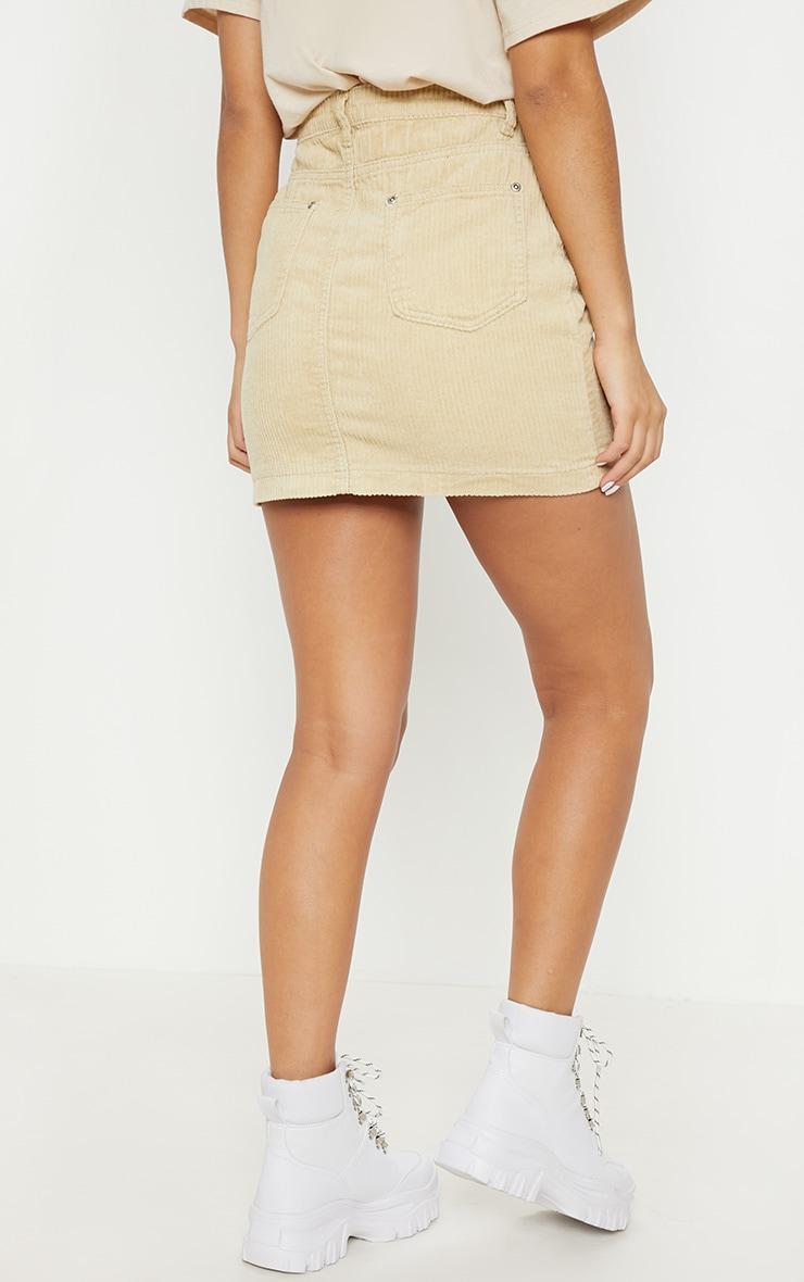 Stone Jumbo Cord Skirt 4