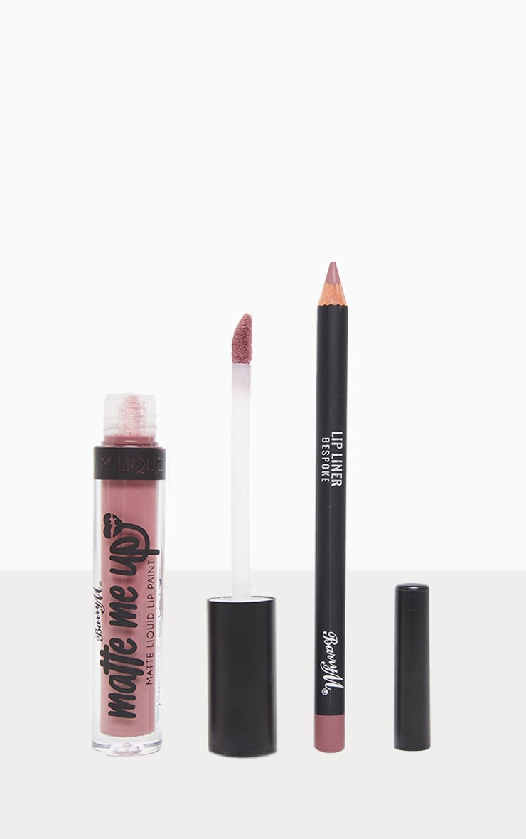 BarryM Matte Me Up Liquid Lip Kit - Bespoke 1