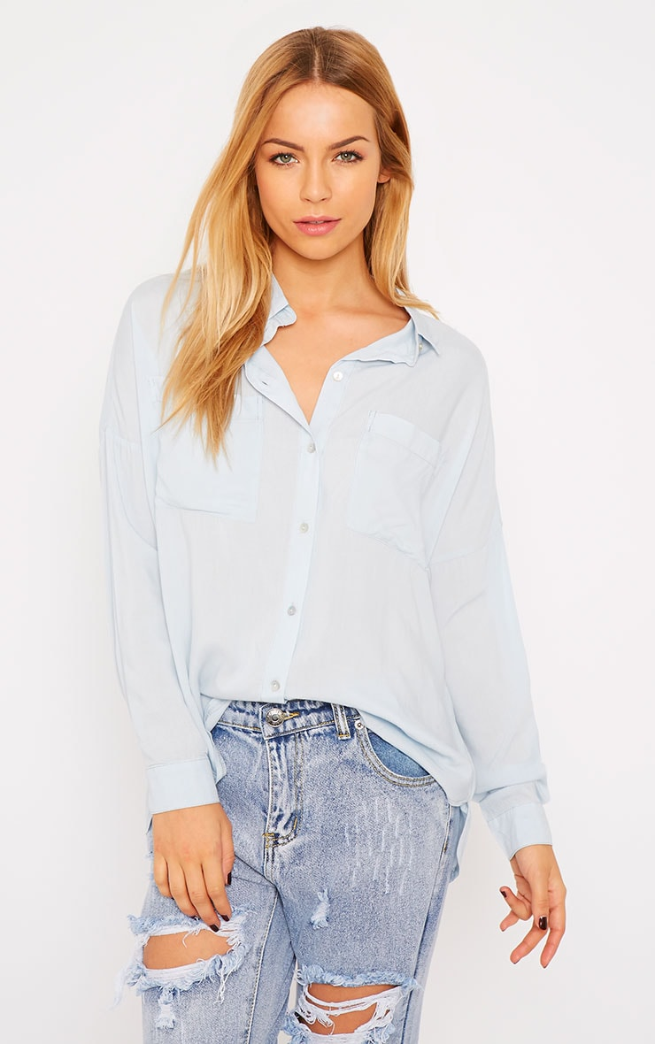Agatha Powder Blue Shirt 1