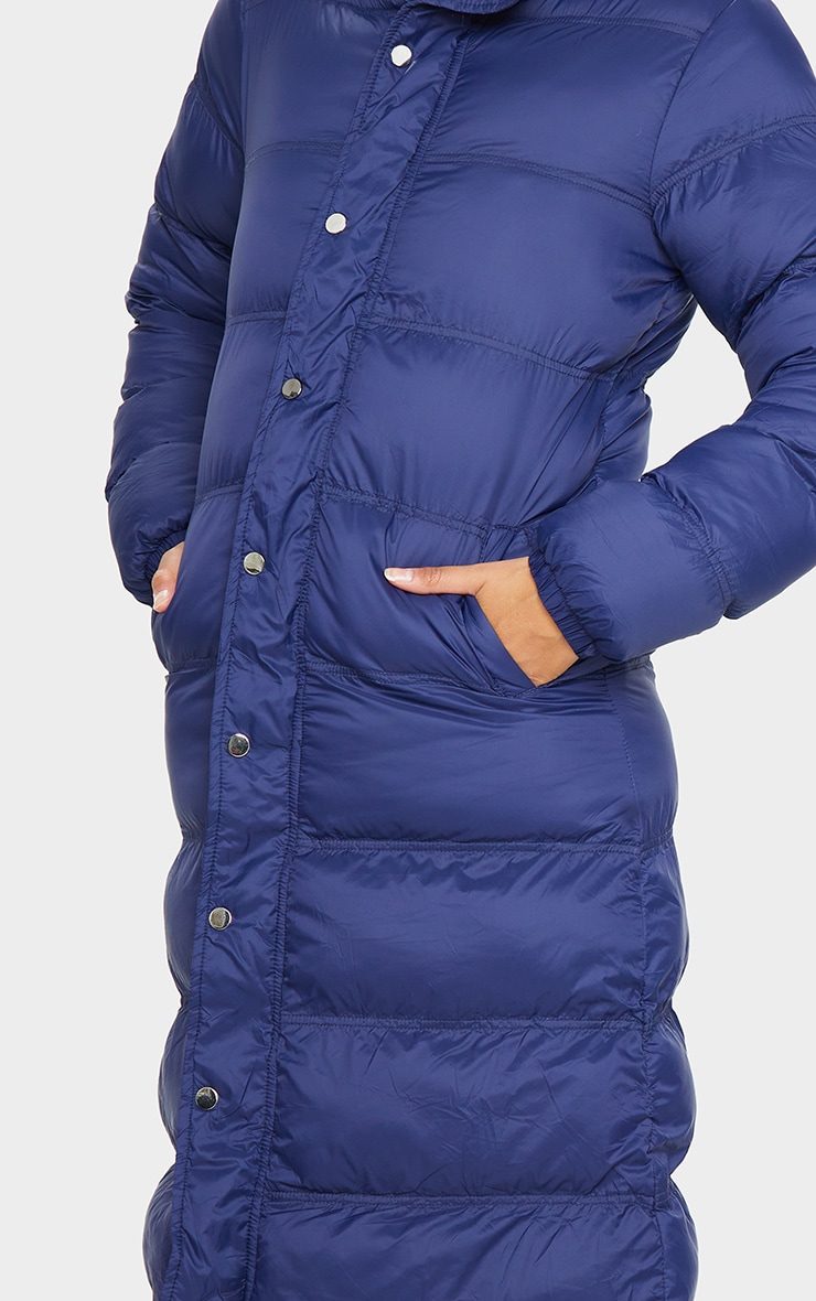 Navy Maxi Fitted Puffer 4