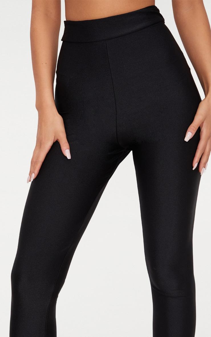 Black Disco High Waisted Leggings 5