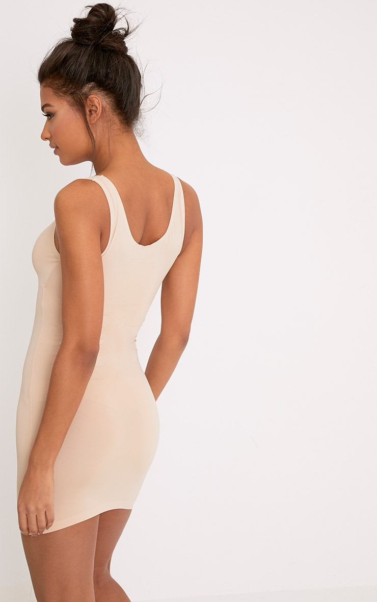Smoothing Nude Invisible Shaping Plunge Slip 2