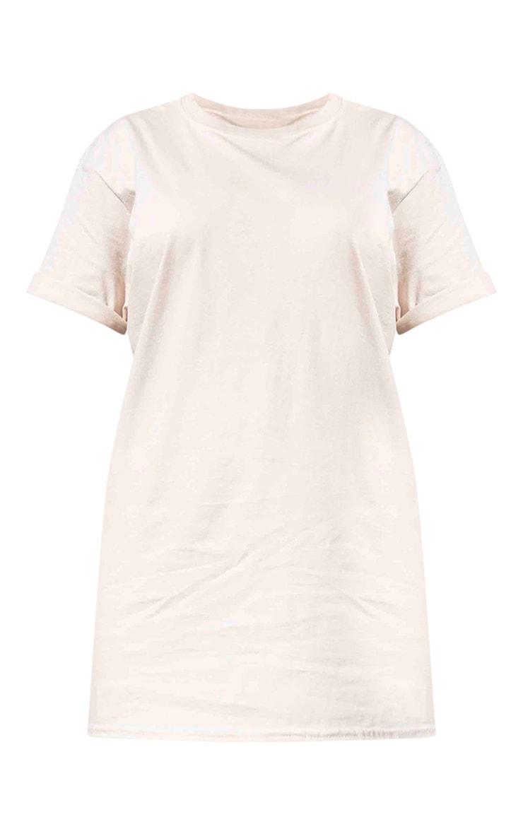 PRETTYLITTLETHING - Tee-shirt gris pierre à slogan au dos 5
