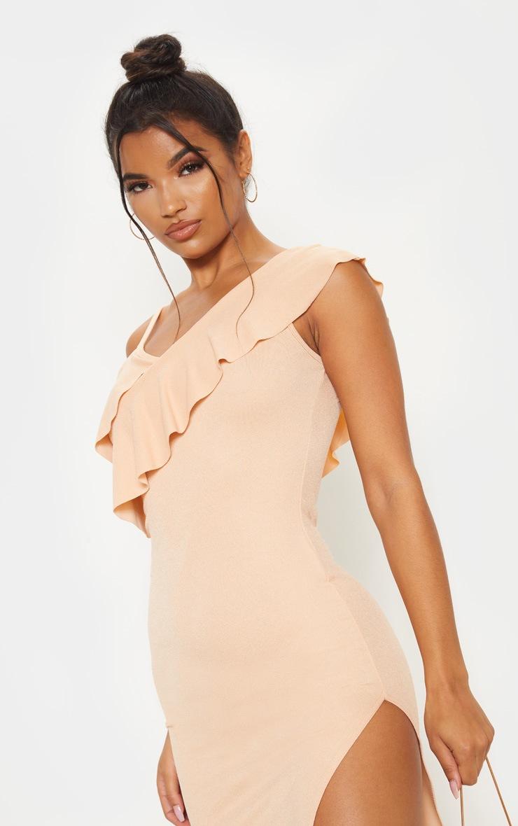 Fawn Frill Detail Strappy Midi Dress 5