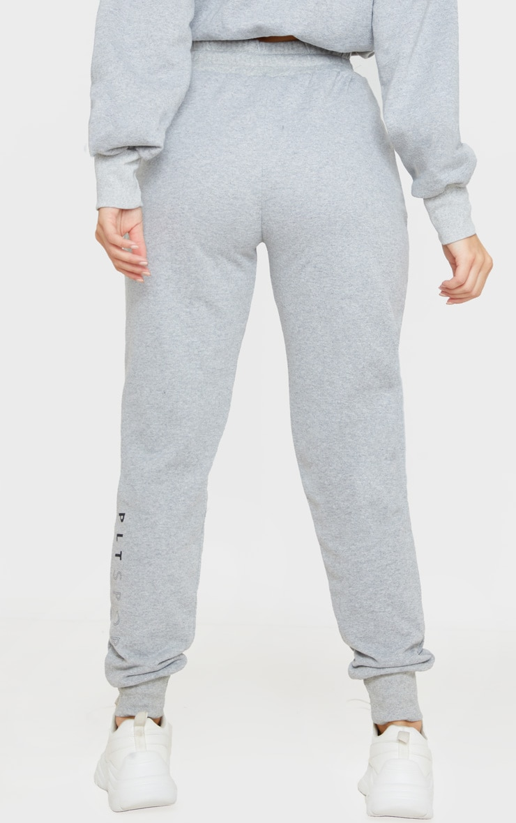 PRETTYLITTLETHING Grey Basic Gym Sweat Jogger 4