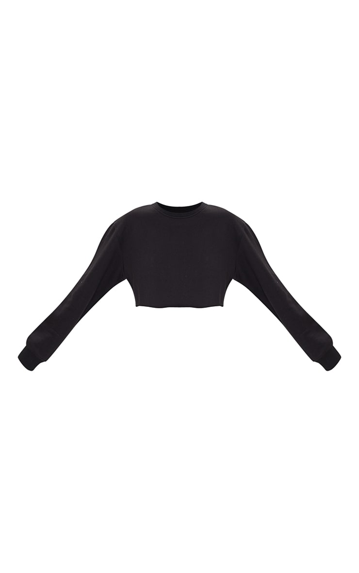 Petite Black Ultimate Cropped Sweater 5