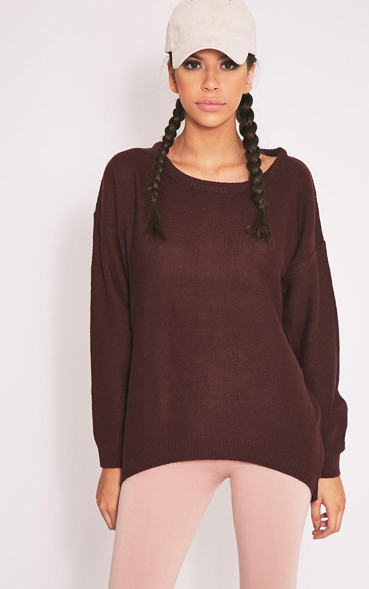 Trisha pull tricoté à fermeture éclair baie 3