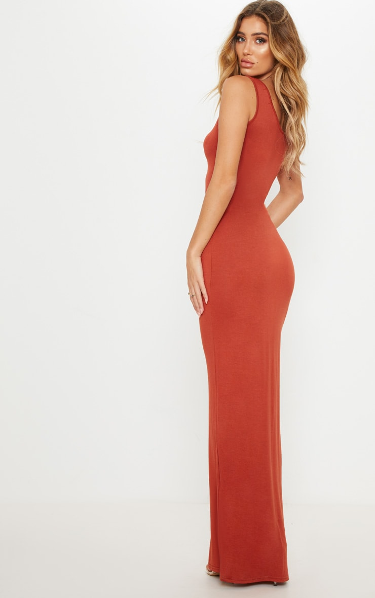 Basic Spice Maxi Dress 2