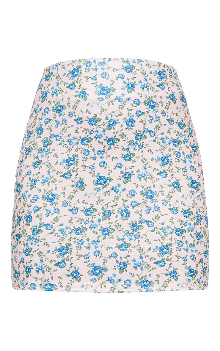 Petite Stone Ditsy Floral Mini Skirt 6