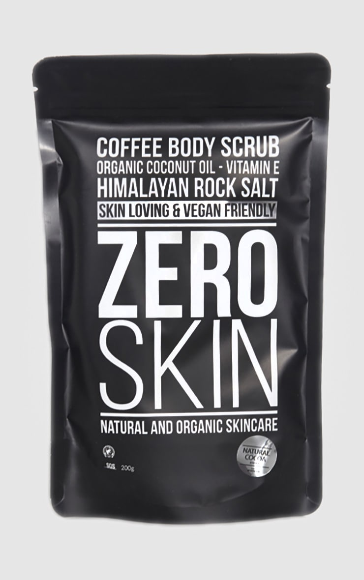 Zero Skin Coffee Body Scrub Cocoa  1