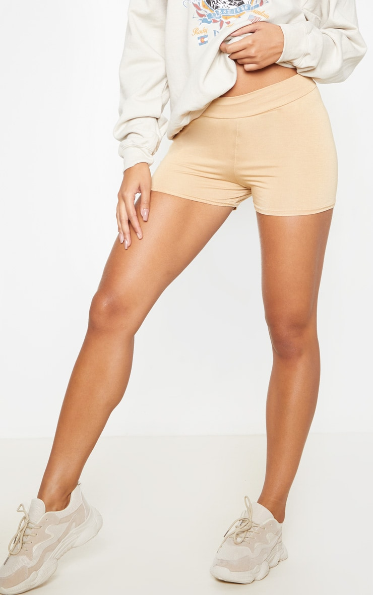 Biscuit Basic High Waisted Shorts 2