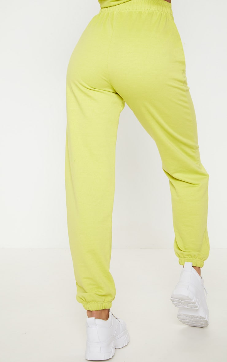 Neon Lime Casual Jogger 4