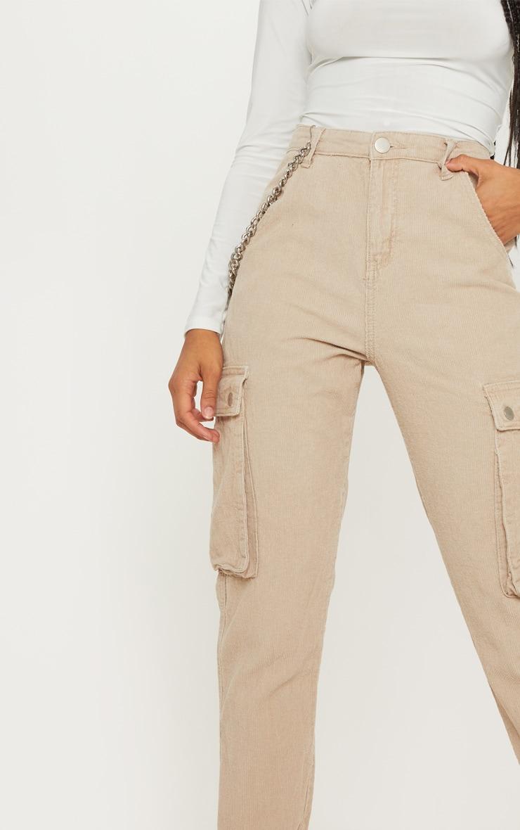 Stone Cord Cargo Pants 5