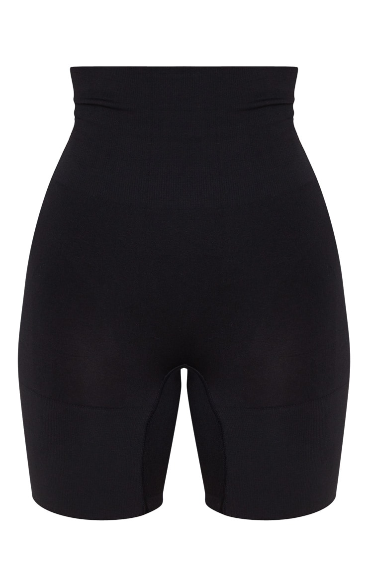 Black Shapewear Control Push Up Bum Short 3